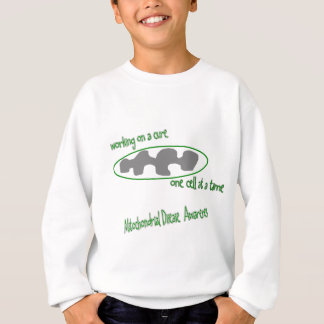one cell at a time sweatshirt
