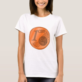 One Cent Euro Coin T-Shirt
