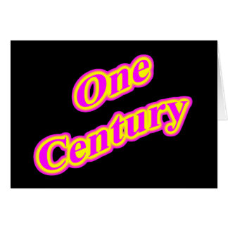 One Century Magenta Card
