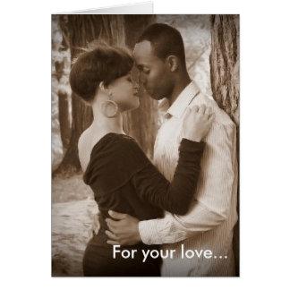 One Chance Valentine Card