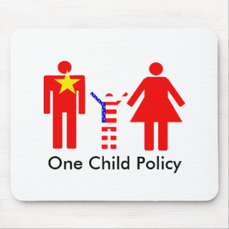 One Child Policy Mousepad