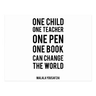 One Child Postcard