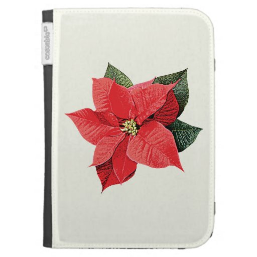 One Christmas Poinsettia Kindle Cover