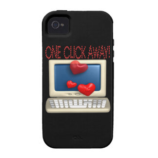 One Click Away iPhone 4/4S Covers