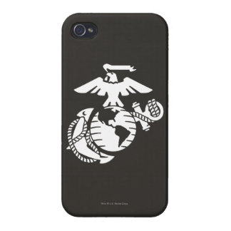 One-Color EGA - White iPhone 4/4S Cases