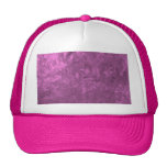 one color painting, pink trucker hat