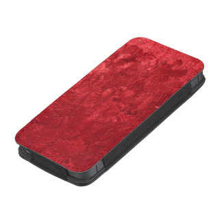 one color painting,red iPhone 5 pouch