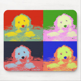 ~ One Colorful Cavachon ~ Mouse Pads