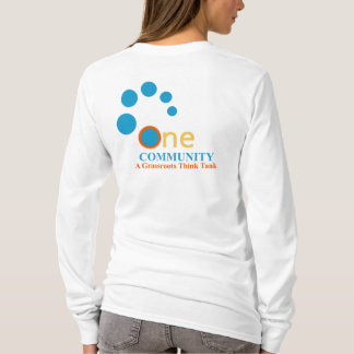 One Community Think Tank Long Sleeved Women's T