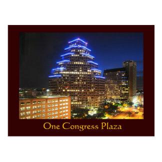 One Congress Plaza, Austin, Texas, U.S.A. Postcard