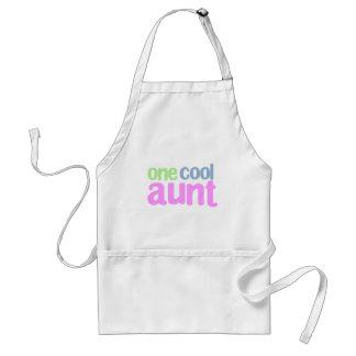 One Cool Aunt T-shirt Apron