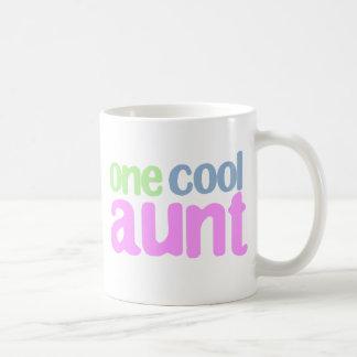 One Cool Aunt T-shirt Classic White Coffee Mug