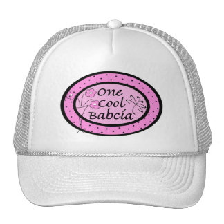 One Cool Babcia Trucker Hat