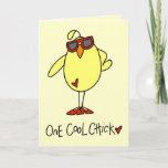 👍 One Cool Chick Card