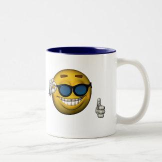 One Cool Dude Two-Tone Coffee Mug