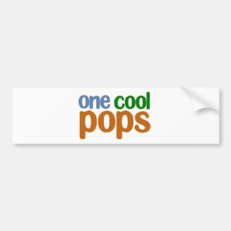 One Cool Pops T-Shirt Bumper Sticker