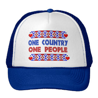 One Country One People Trucker Hat