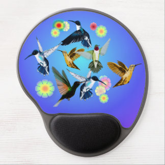 One Crane In BambooFor The Love Of Hummingbirds Gel Mouse Pad