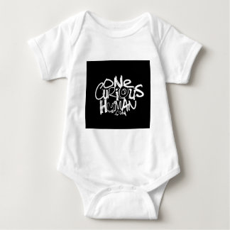 One Curious Human Baby Bodysuit