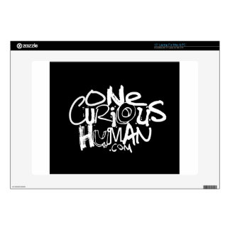 "One Curious Human Skins For 15"" Laptops"