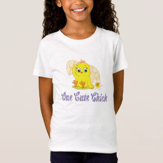 One Cute Chick Girl's T-shirt