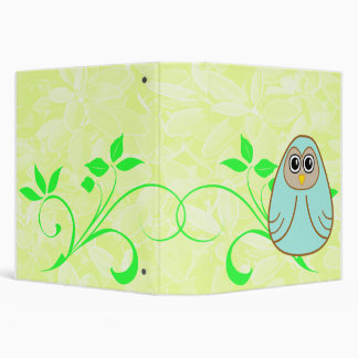 One Cute Owl Binder