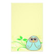 One Cute Owl Stationary Stationery