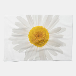 One daisy flower towel
