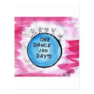 One Dance 100 Day's Postcard