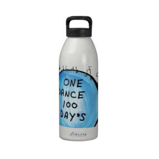 One Dance 100 Day's Reusable Water Bottle