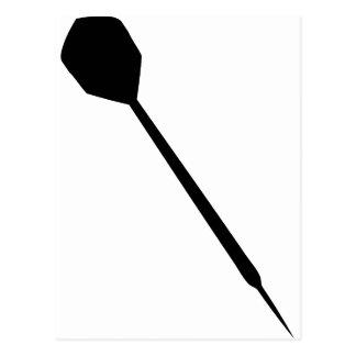one dart icon postcard