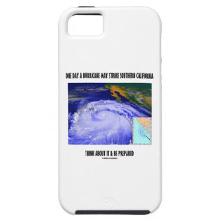 One Day A Hurricane May Strike Southern California iPhone 5 Case
