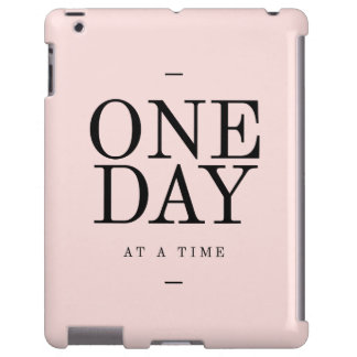 One Day Achieving Goals Quote Blush Pink Gift