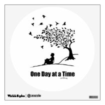 One Day at a Time – (1 Day at a Time Female) Wall Sticker