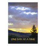 One Day at a Time 5x7 Paper Invitation Card