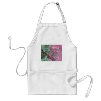 One Day at a Time Blackberries Adult Apron