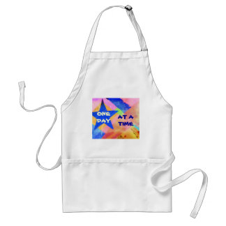 """One Day at a Time """"Blue Star"""" apron"""