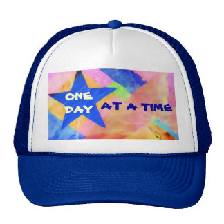 "One Day at a Time ""Blue Star"" hat"