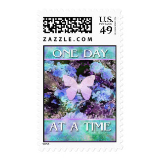 One Day at a Time Butterfly Postage