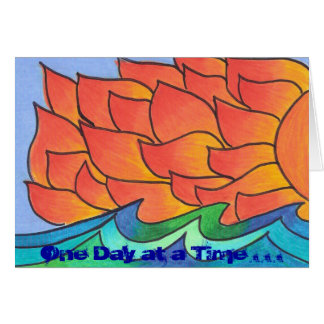 One Day at a Time . . . Card