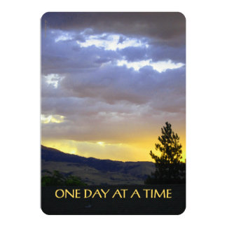 One Day at a Time Card