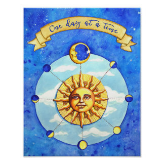 One Day at a Time Celestial Poster