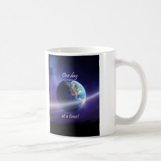 One Day At a Time Classic White Coffee Mug