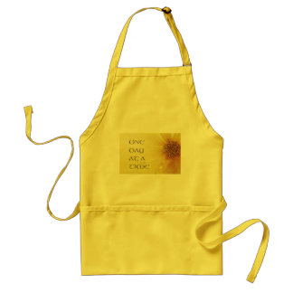 One Day at a Time Coreposis Adult Apron