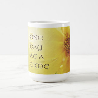 One Day at a Time Coreposis Coffee Mug
