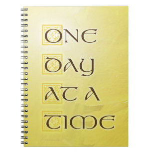 One Day at a Time Coreposis Notebook