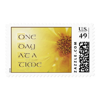 One Day at a Time Coreposis Postage Stamp