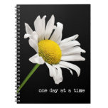 One day At A Time Daisy Notebook