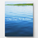 One Day At A Time Display Plaque