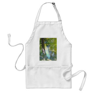 One Day at a Time Duck Pond Adult Apron